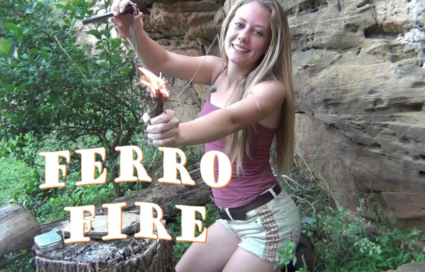 "Ferro Fire with ""The Ugly Stick"""
