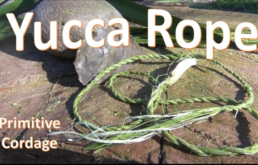 Yucca Cordage -Rope Making-